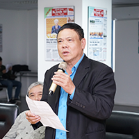 Chú Kim Minh - người dùng Giải độc gan Tuệ Linh