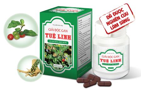 I. Giải độc gan Tuệ Linh - Sản phẩm chuyên biệt cho bệnh nhân viêm gan virus và xơ gan: 1